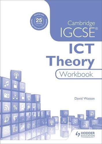Chiumbo Sigdag : Cambridge IGCSE ICT Theory Workbook PDF Kindle