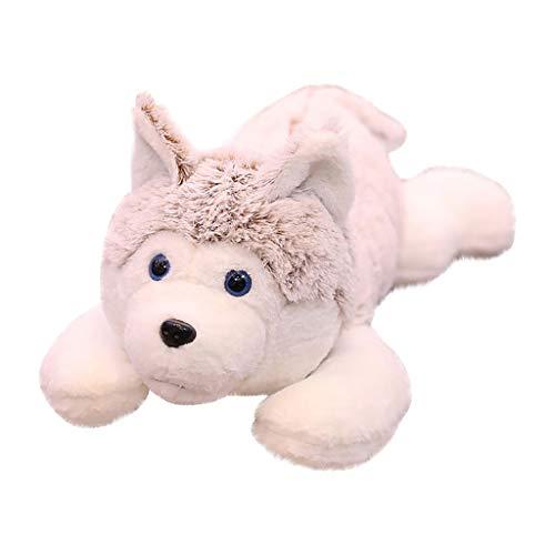 Stofftier, Chshe , Süße Gefüllte Husky Hund Puppen, Weiche Stofftier Spielzeug Für Inneneinrichtungen, Geburtstagsgeschenke (B)