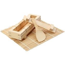 Dexam 17841090 Kit per preparare il sushi, in bambù