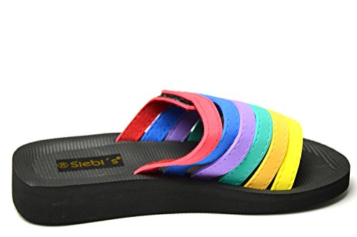 Siebi's , Chaussures spécial piscine et plage pour femme Multicolore Multicolore Multicolore - Multicolore