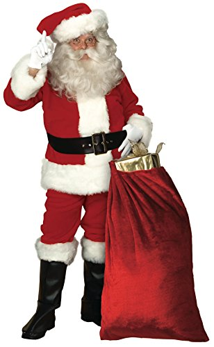 Rubie 's Offizielles Imperial Santa Anzug Weihnachtsmann Kostüm für Erwachsene Standard-Größe