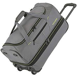Travelite Basics Trolley Reisetasche auf Rollen 70cm, erweiterbar auf 119 Liter Volumen, in sechs Farben Bolso de Viaje 70 Centimeters 98 Azul (Royal Blau)
