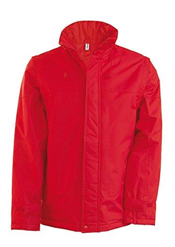 Kariban - Blouson manches amovibles Factory Kariban red