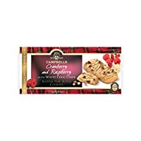 Campbells Cranberry and Raspberry with White Choco Chips Scottish Pure Butter Cookies