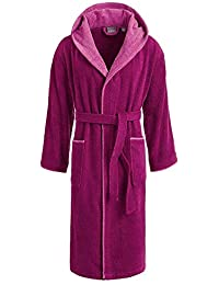 Egeria Cairo 2 Bathrobe Saunarobe with Hood for Women & Men by Eliwareexclusive with New Sizes