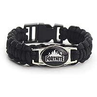 Leegoal Fortnite Bracelets, Weaving Bracelet for Kids Boys Girls Adults, Kids Birthday Party Fortnite Gamer Gifts