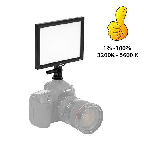 SUTEFOTO T16 Pro Kamera Camcorder LED Video Licht 16W Hohe Energie CRI 97+ 3200 K to 5600 K 1080 LUX Helligkeit 1%-100% für Canon Nikon Pentax Sony Olympus Studio- Oder Außenbeleuchtung