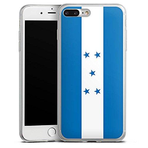 Apple iPhone X Slim Case Silikon Hülle Schutzhülle Honduras Flagge Fußball Silikon Slim Case transparent