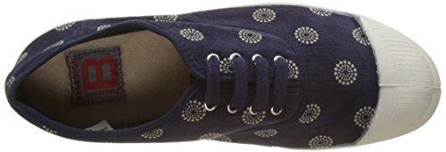 Bensimon Damen Tennis Corduroy Sneakers Blau (Marine)
