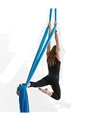 Premium Aerial Silks Equipment Aerial Yoga Tuch Aerial Yoga Hammock Set Anti-Schwerkraft Yoga Swing Aerial Silk Yoga Set 10 Meter