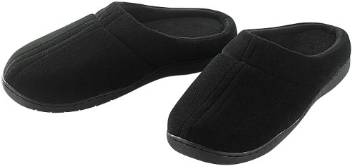 newgen medicals Schuh: Komfort-Hausschuhe mit thermoaktivem Fußbett Gr. 38-39 (Hausschuhe für Dame)