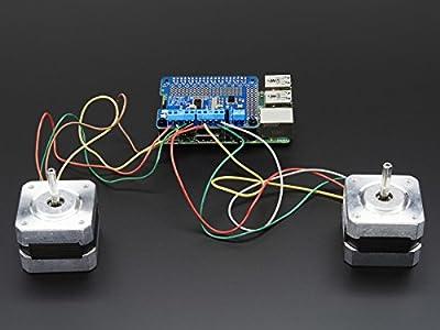 Adafruit Schrittmotor HAT für Raspberry Pi (A+/B+/2) - Bausatz von ADAFRUIT