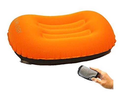 Trekology Oreillers de Voyage et de Camping gonflables, ultralégers - Oreiller Compressible, Compact, Gonflable, Confortable