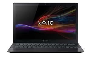 Sony VAIO Pro SVP1322K4EB  33,8 cm (13,3 Zoll Touch) Ultrabook (Intel Core i7-4500U, 1,8Ghz, 8GB RAM, 512GB SSD, Intel HD 4400, NFC, , inkl. VGA Adapter, Win 8.1 Pro) schwarz