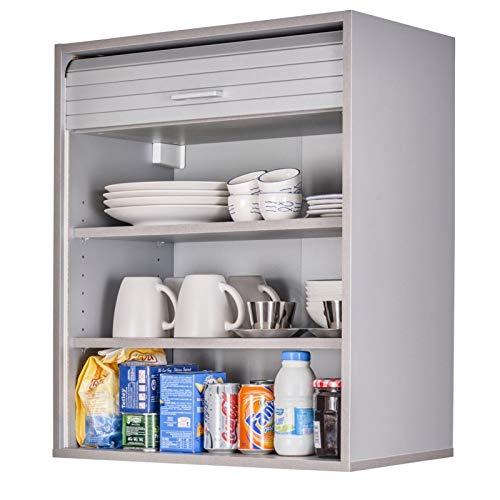 SIMMOB Küchenoberschrank, 60 cm, Höhe 72 cm, Aluminium
