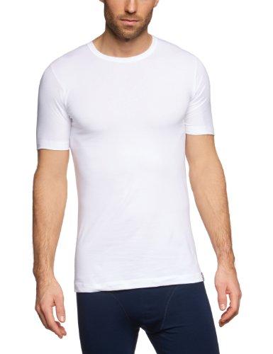 Slip Stretch-unterhemd (Schiesser Herren Unterhemd 205430, Gr. 6 (L), Weiß (100-weiss))