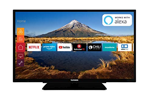 Telefunken XF32G511 81 cm (32 Zoll) Fernseher (Full HD, Triple Tuner, Smart TV, Prime Video) (Tv De 32)