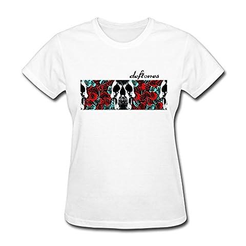 Nana-Custom Tees - T-shirt - Femme - Noir - S