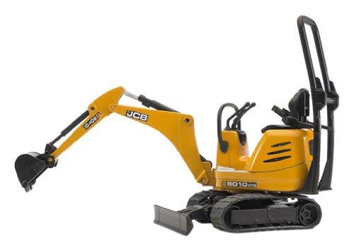 Bruder 62003 - JCB Mikrobagger 8010 CTS (Ketten Für Traktor)