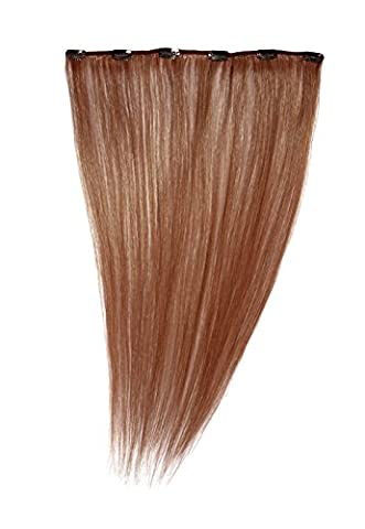 American Dream Clip in Extension Human Hair Number 130, Rich Ginger, 18-Inch