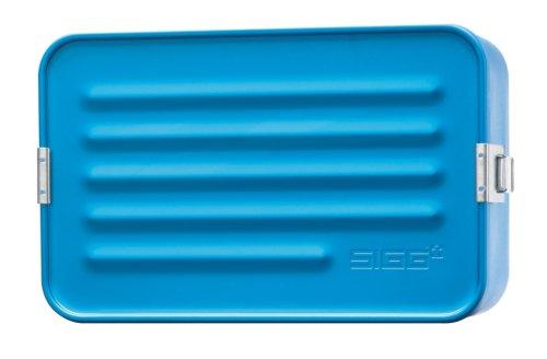 SIGG Accessories Alu Box maxi, metallic blue, 8308.7 (Schweizer-wasser-flasche Aluminium)