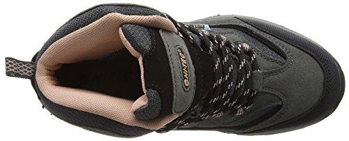 Hi-Tec Hillside Wp Jrg, Chaussures de Marche nordique fille Gris - Grau (052)