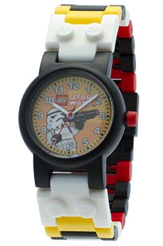 52cfe8e70615 Reloj modificable infantil de la tropa de asalto de LEGO Star Wars con  pulsera por piezas