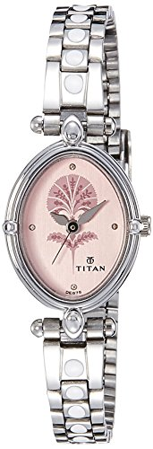 41bHE6gwvhL - Titan 2419Sm01 Pink Women watch