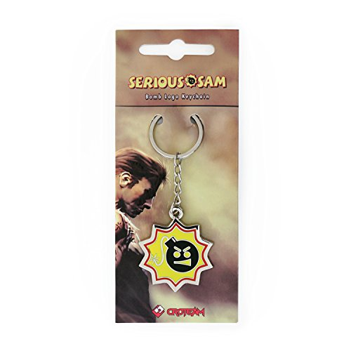 Serious Sam Keychain Bomb Logo -