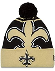Men's New Orleans Saints New Era Graphite Grafpop Tech 2 39THIRTY Hat