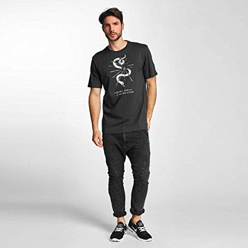 Electric Uomo Maglieria/T-Shirt Cut Snake Nero