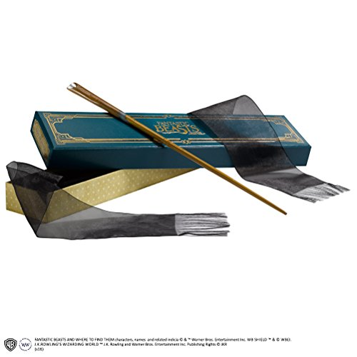 Noble Collection Varita harry potter animales fantã¡sticos newt scamander