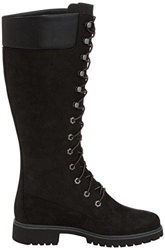 TimberlandWomen's Premium FTW_Women's Premium 14in WP Boot - Stivali classici imbottiti a gamba corta donna Nero (Black)