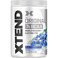 ‏‪Scivation Xtend Bcaas Blue Raspberry Ice, 416 gm - 30 Serving‬‏