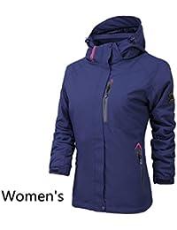 WE&ZHESuave concha chalecos esquí chaqueta desmontable 3 en 1 dos piezas a prueba de viento impermeable caliente puede ser usado solo chaqueta de alpinismo , 7# , xxxl