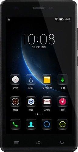 Doogee X55pollici HD Display Quad Core Smartphone Android 5.1Dual SIM 3G GPS 8GB Bianco