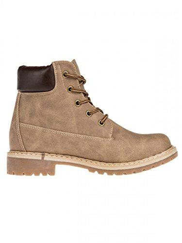 Gefütterte Damen Outdoor Boots SBO065 Khaki