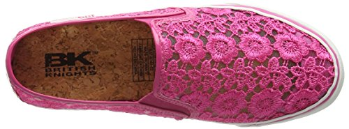 British Knights Cara, Mocassins femme Multicolore - Mehrfarbig (Fuchsia-Grey 02)
