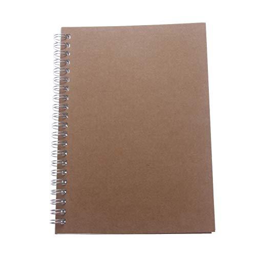 ZLJHH Retro Nützlich A5 Notebook Medium 90 Seiten Weißes Briefpapier, (Kinder Halloween-sicherheits-regeln Für)