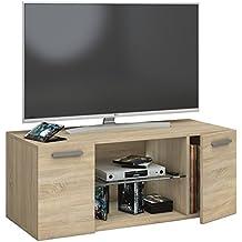 Amazonfr Meuble Tv Chene