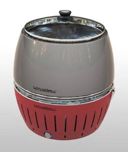 LotusGrill Grillhaube! Speziell entwickelt für den raucharmen Holzkohlegrill/Tischgrill