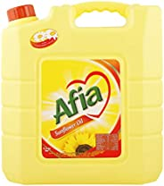 Afia Sunflower Oil - 9 Liter