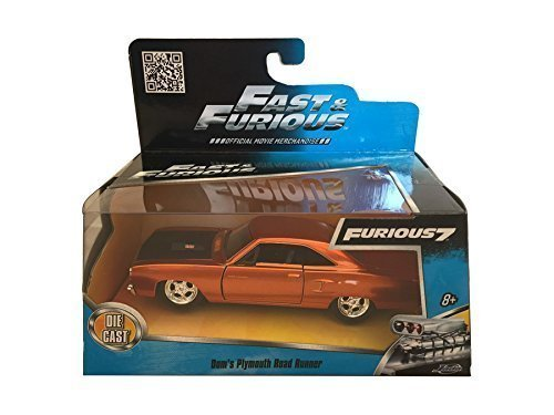 doms-1970-plymouth-road-runner-copper-fast-furious-7-movie-1-32-by-jada-97128-by-jada