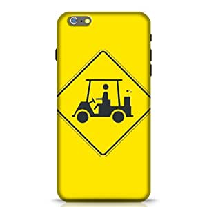Stylebaby Golf Cart Crossing Sign for Apple Iphone 6 Plus Phone Case