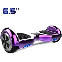 Cool&Fun 6,5 Pouces Hoverboard Self Balance Scooter Smart Skateboard Auto-équilibrage Électrique Gyropode 2x350W