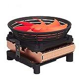 LQ Silent-CPU-Kühler W / 100 mm PWM-4-pin Lüfter für Intel LGA775 / LGA1155 / LGA1156, AMD Sockel 754/939 / AM2 / AM2 + / AM3 / FM1 / FM2