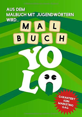 Malbuch Yolo - Der Buchstaben-Swag zum Ausmalen