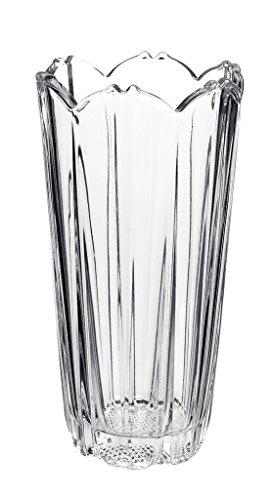 Bormioli Rocco - Florero de vidrio transparente, resistente, para deco