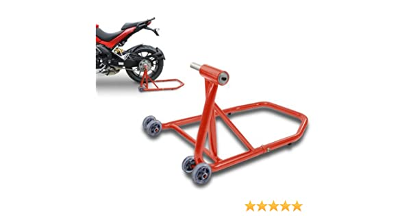 ConStands Single Motorcycle Rear Paddock Stand for KTM 1290 Super Duke GT 16-19 red