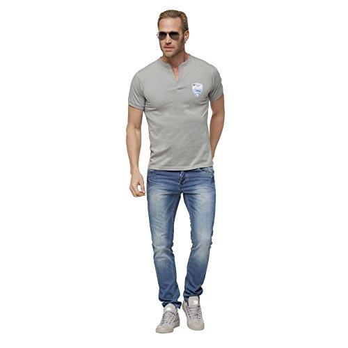 Nebulus T-Shirt VINCE hellgrau